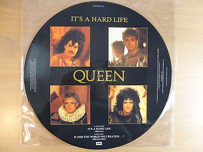 "Queen ‎– It's A Hard Life ,  12"", picture disc maxi, Vinyl: m-"