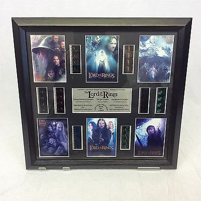 Lord of the Rings limited edition 35mm film cell picture presentation frame