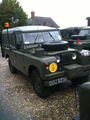 Rare 1961 Tax Exempt Landrover Series 2A Ex Military Limited Edition