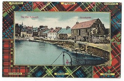 STONEHAVEN the Old Tolbooth, Postcard by Woolstone, Postally Used 1907