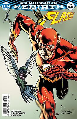 FLASH #16, VARIANT, New, First Print, DC REBIRTH (2017)