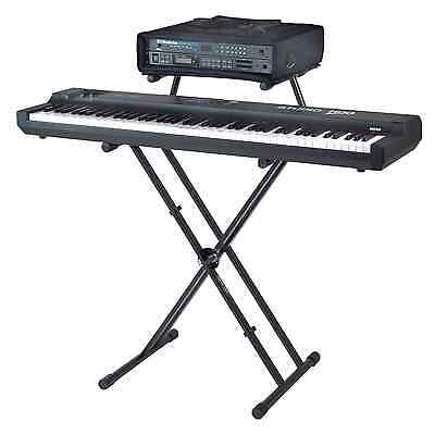 Quik Lok QLX-22 Keyboard Stand with Adjustable Second Tier