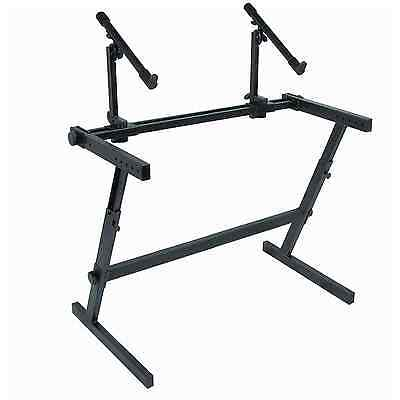 Quik Lok Z-726L Extra Wide Double-Tier Z-Frame Stand