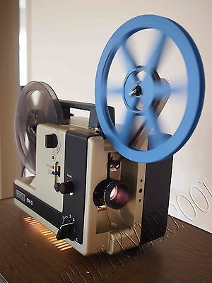 Eumig 614D Super 8 Std 8 Cine Movie Dual Format Film Projector 0015