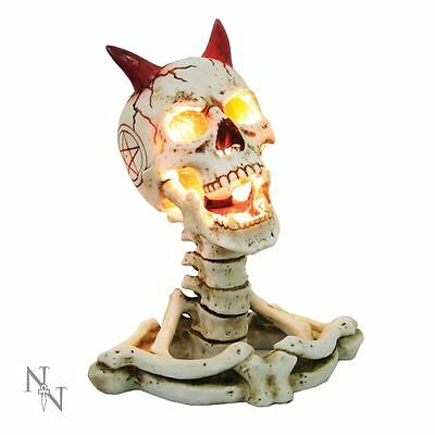 Nemesis Now James Ryman Hell of a Light Lamp Gothic Skull Ornament Home Gift