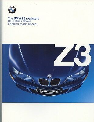 1999 BMW Z3 Roadster Brochure my8012