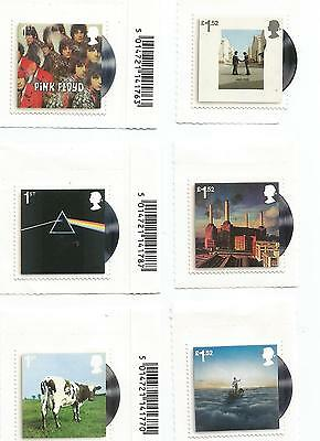 Gb 2016 Pink Floyd Record Sleeves Unmounted Mint