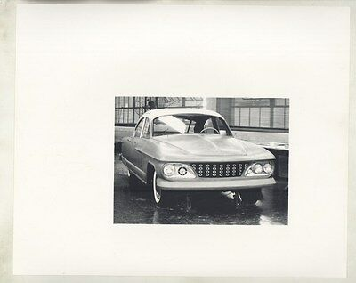 1960 Kaiser IKA Sedan Concept ORIGINAL Factory Photograph Argentina ww6086