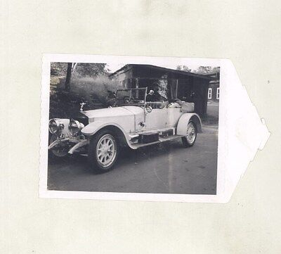 1912 Rolls Royce Silver Ghost Touring ORIGINAL Photograph ww6088