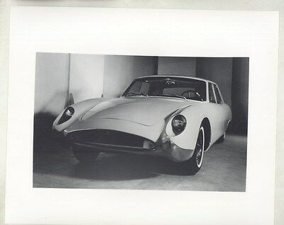 1962 Kaiser Israel Darrin Sedan Prototype ORIGINAL Factory Photograph ww6091