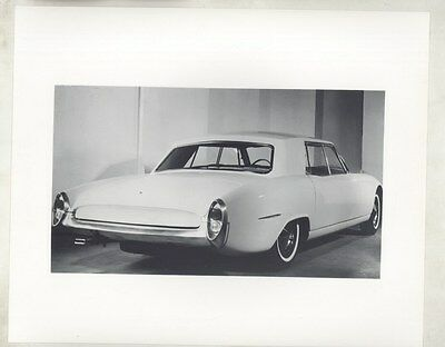 1962 Kaiser Israel Darrin Sedan Prototype ORIGINAL Factory Photograph ww6092