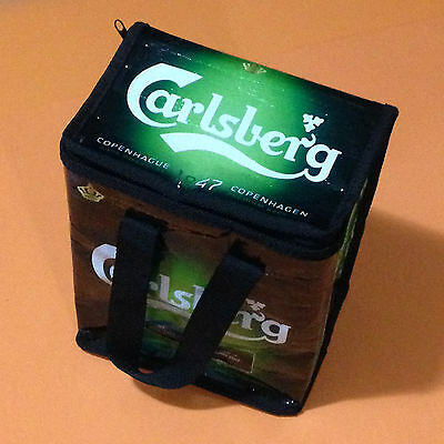 New Rare Euro 2012 Poland Uefa Carlsberg Insulated Beer Cooler Bag Lunch Bag