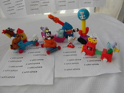 ANIMANIACS WARNER BROTHER'S LOT 8 FIGURES¤WAKKO¤YAKKO Pinky Hip Hippos DOT
