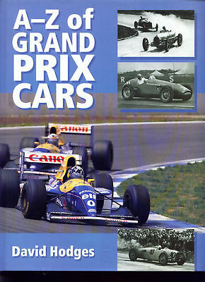 RACING CARS.  GRAND  PRIX  CARS.  A to Z.  by Hodges.   Mint book.
