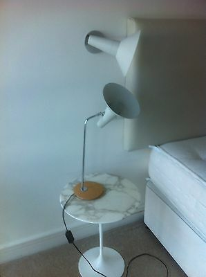 Paire Of Retro Lamp & Paire Of Matching Wall Lamp
