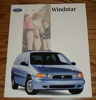 Original 1998 Ford Windstar Sales Brochure 98 12/96