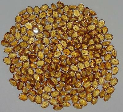 8x6mm Beautiful Color Brazil TOP Gold Citrine Oval Cut