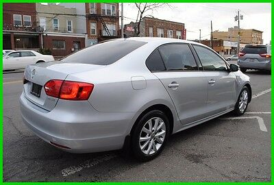 2012 Volkswagen Jetta 2.5L SE Sunroof AT Leather Heated Seats Repairable Rebuildable Salvage Wrecked Runs Drives EZ Project Needs Fix Save Big