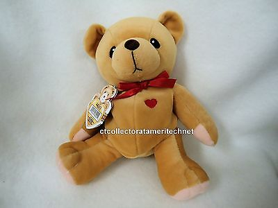 Cherished Teddies Plush Heart of Gold Love 1999  NEW