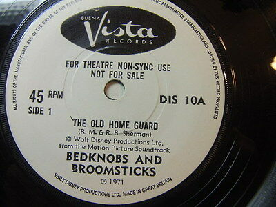 """Bedknobs and Broomsticks – The Old Home Guard 1971 Theatre Non-Sync Use 7"""""""
