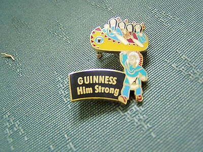 2002 Guinness - Big Chief Showoff - Numbered Enamel Pin Badge - Boxed