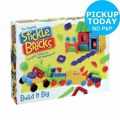 Stickle Bricks Build it Big Box - 100 Pieces -From the Argos Shop on ebay
