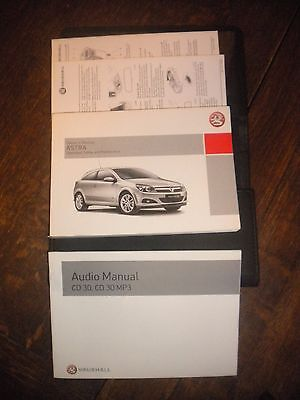 Vauxhall Astra  Owners Handbook 2007 Wallet Guide