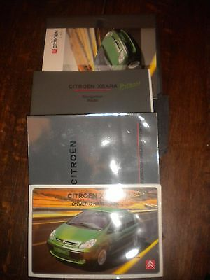 Citroen Picasso Owners Handbook 2002 Wallet Guide