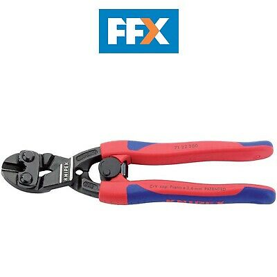 Draper 49189 Knipex 200mm Cobolt 20dg Angled Head Bolt Cutter with Sprung Handle