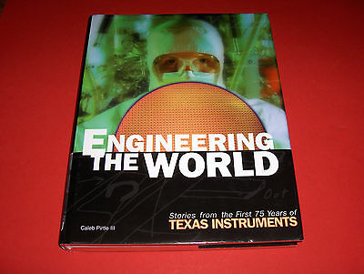 2005Book 75 Years Of Texas Instruments Engineering The World Illustrated Xl-Size