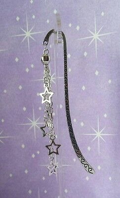 Hollow Stars Metal Bookmark.