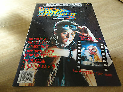 BACK TO THE FUTURE 2 poster magazine