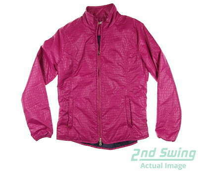 New Womens Fairway & Greene Jacket Large L Pink MSRP $189