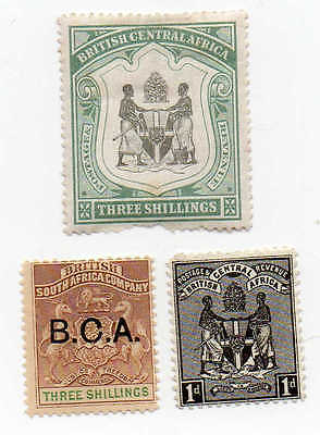 #11a Early British Central Africa Stamps