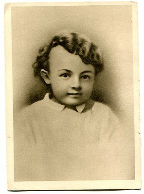 3 Postcards of Lenin, from Child to Adult