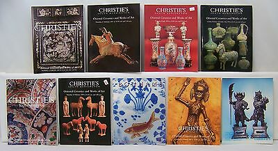 Christie's Lot of 9 Oriental Ceramics and Work of Art Auction Catalogs 7