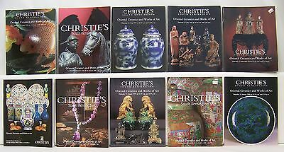 Lot of 10 Oriental Ceramics and Works of Art Christie's Auction Catalogs Lot 25