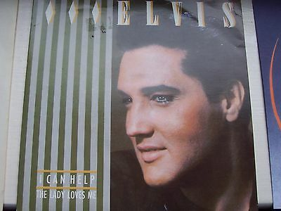 Elvis Presley, I Can Help / The Lady Loves Me. Original 1983 Rca Single