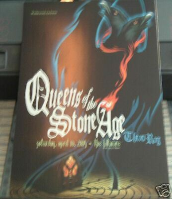 Queens Of The Stone Age FILLMORE POSTER F683  ORIGINAL BILL GRAHAM Lisa Eng