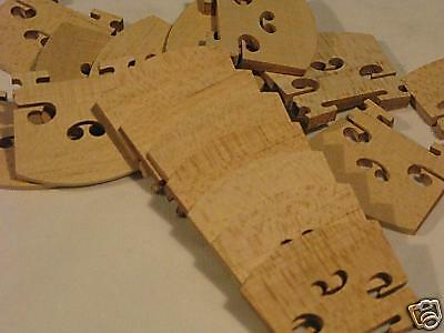 4/4 300 pcs violin bridges fine maple laser precise