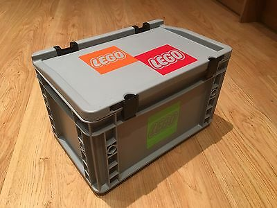 Storage Box/Euro Container Small,suitable for a range of storage solutions.