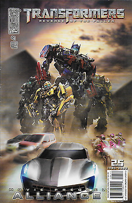 Transformers Alliance comic issue 4
