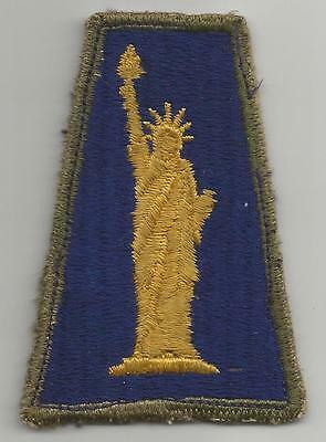 Off Uniform WW 2 US Army 77th Infantry Division OD Border Patch Inv# K518