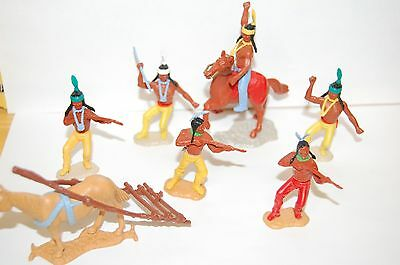 6 Vintage Timpo Indians