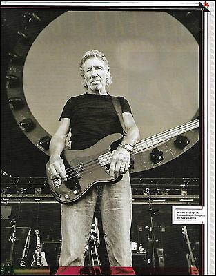 Pink Floyd Roger Waters Fender Precision bass guitar 8 x 11 pinup photo print