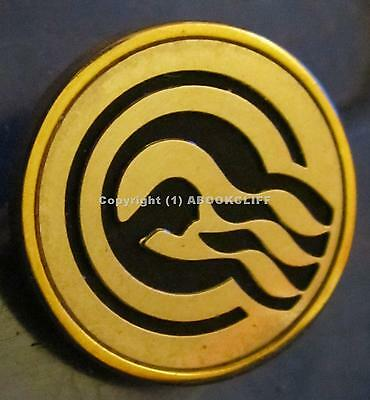 PRINCESS Cruises CAPTAINS CIRCLE Gold / Black Color Pin SEA WITCH Mint