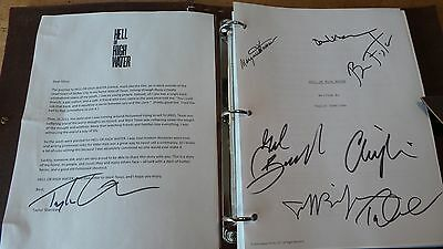 Hell Or High Water Cast Signed Screenplay Script Fyc For Your Consideration