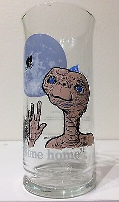 1982 ET The Extra Terrestrial Pizza Hut Collector Series Promo Glass PHONE HOME