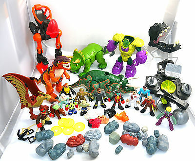 Fisher Price Great Lot Dino Imaginext Dinosaurs Peoples Accessories Lot