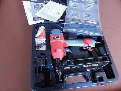 "New Senco 16 Ga Finish Nailer Nail Gun Finishpro 32 1 1/4""-2 1/2"" Air Pneumatic"